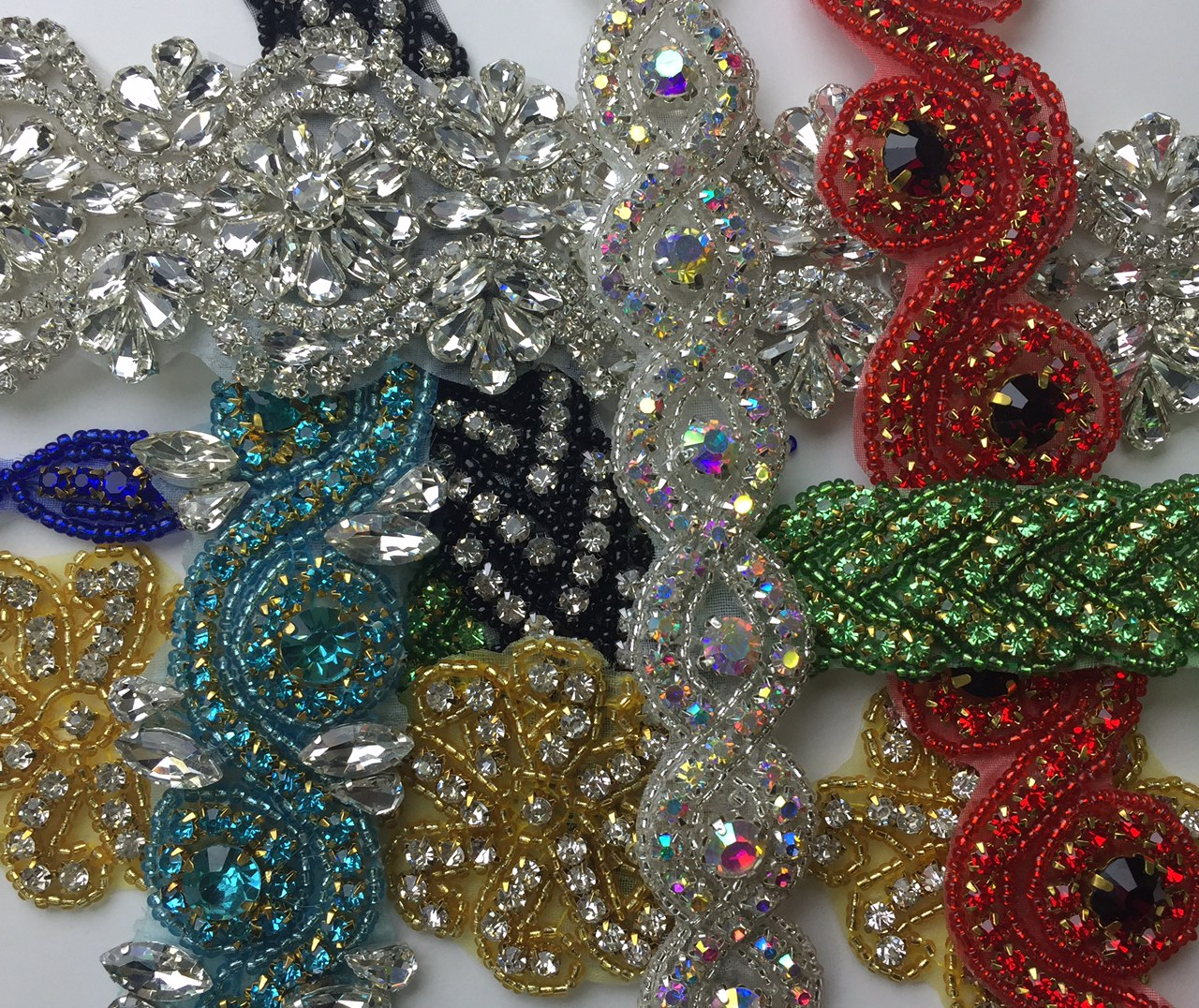 Shop Hot Fix Crystal Rhinestone Trims